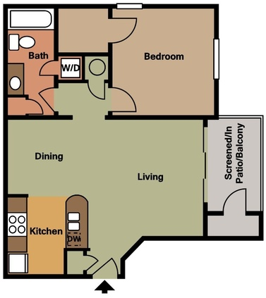 1 bedroom - One Bedroom Apartments Gainesville Fl