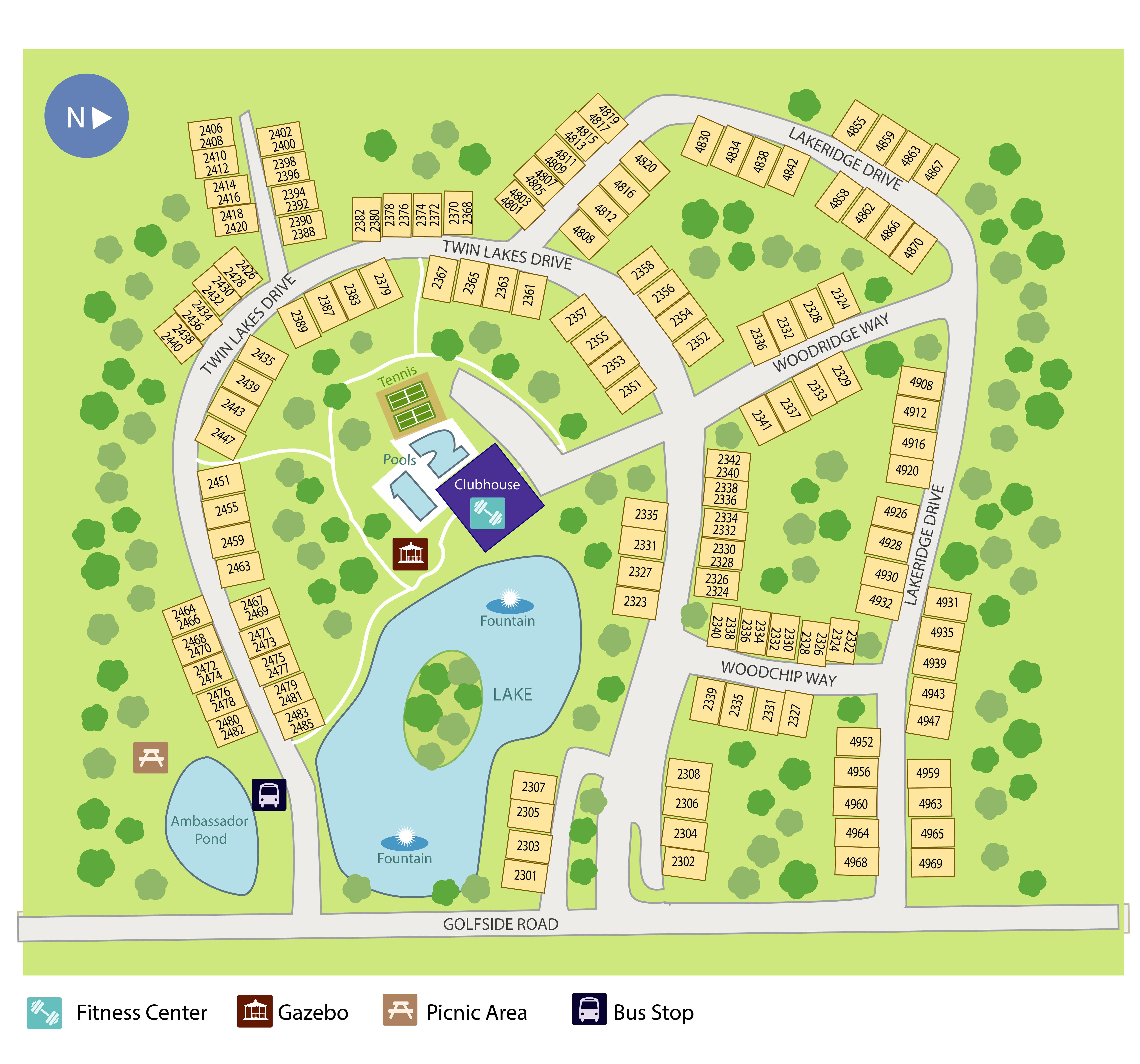 Huron View Apartments In Ypsilanti Michigan: Golfside Lake Apartments