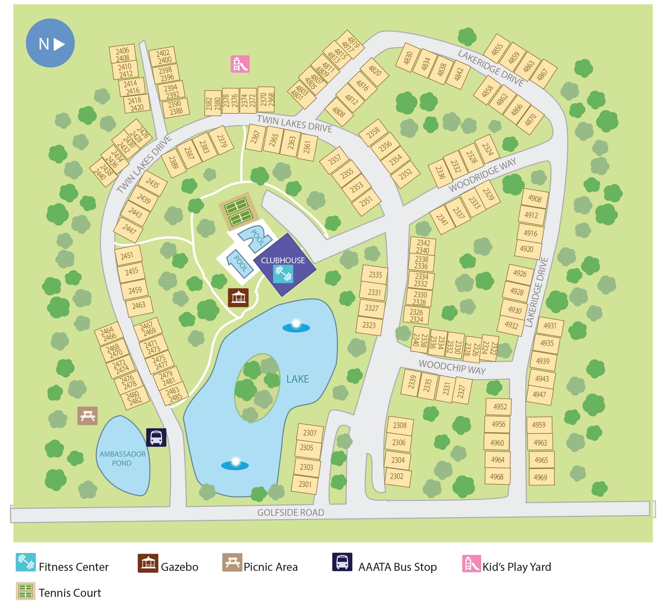 Golfside Lake Apartments Ypsilanti: Golfside Lake Apartments