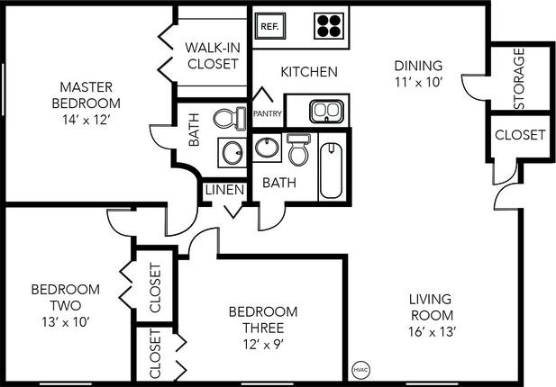 Briarwood   3 Bed   1 5 Bath   1000 Sq  Ft    Evergreen   Apartments in Ann  Arbor  Michigan   McKinley. Briarwood   3 Bed   1 5 Bath   1000 Sq  Ft    Evergreen