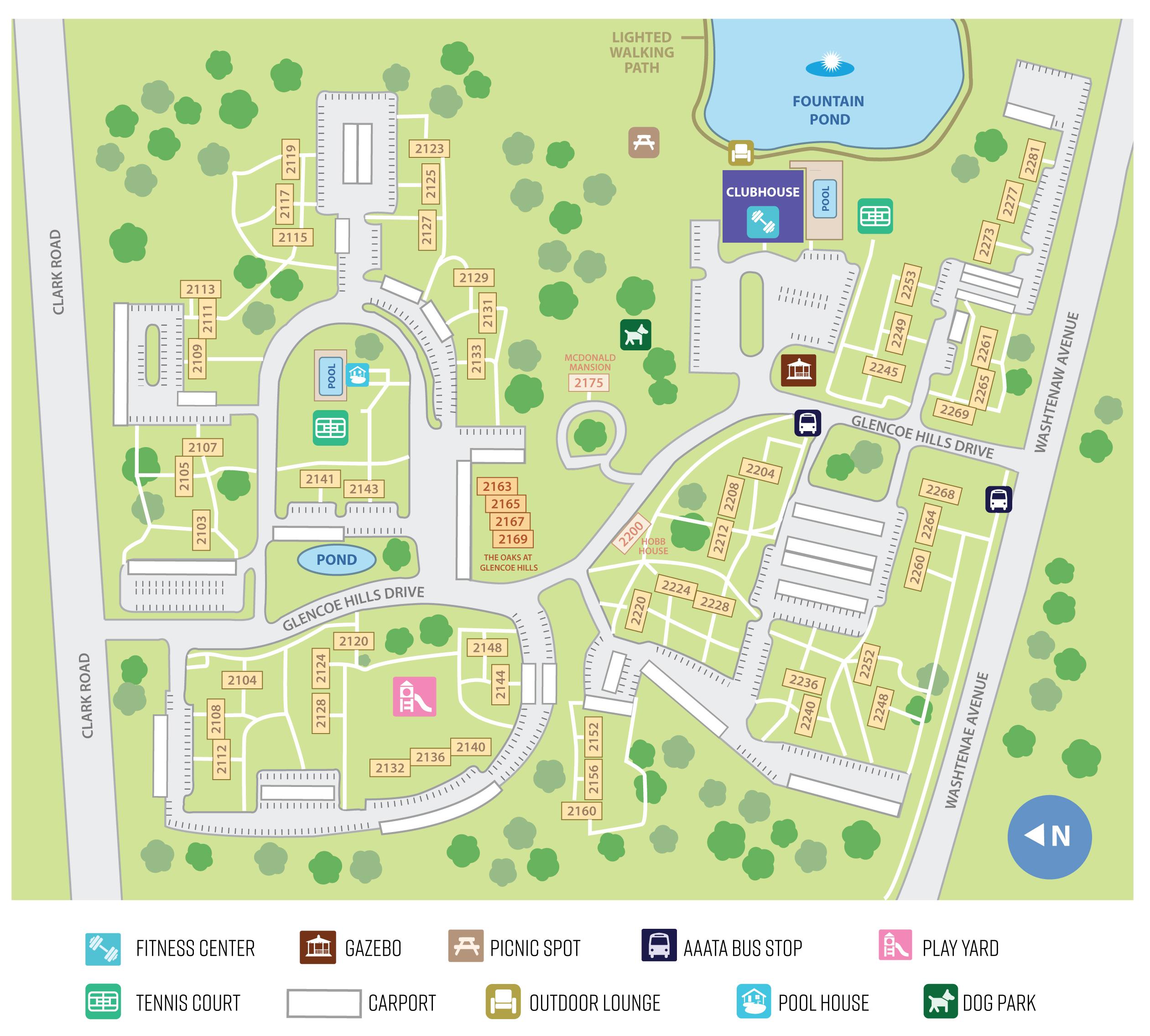 Ann Arbor Apartment Properties: Glencoe Oaks Apartments In Ann Arbor, MI