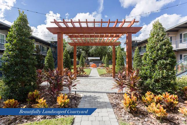 Iris-courtyard
