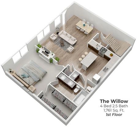 Go-willow1-3d