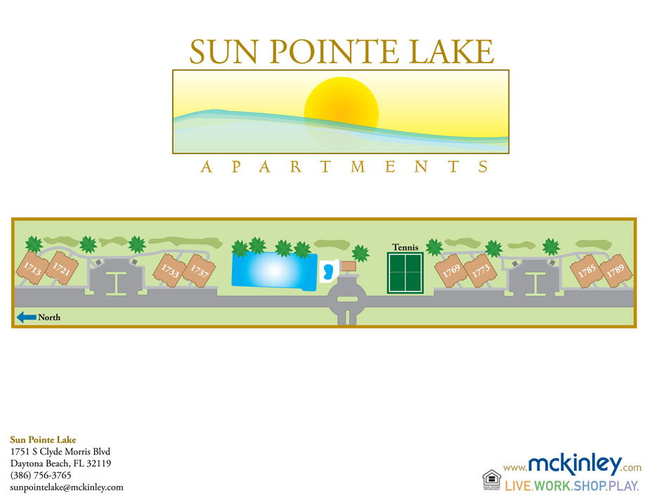 Sun Pointe Lake Apartments Daytona Beach